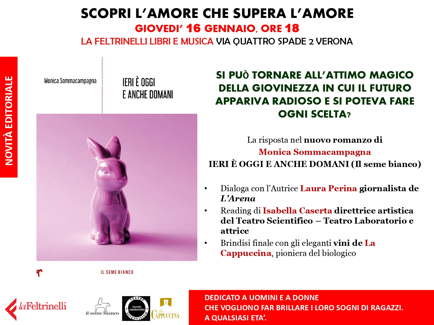 16.1 Evento in Feltrinelli a Verona
